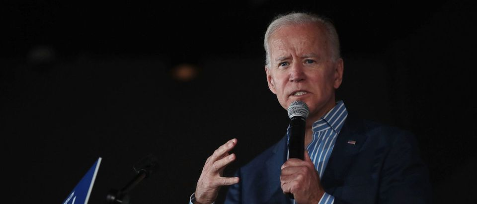 Newly-Minted Presidential Candidate Joe Biden Makes First Campaign Tour Of Iowa