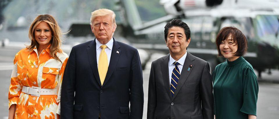 U.S. President Trump Makes State Visit To Japan