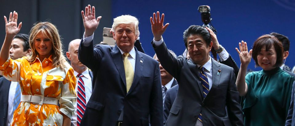 U.S. President Trump Makes State Visit To Japan