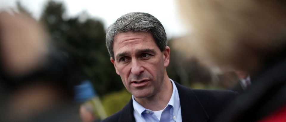 Candidate For Virginia Governor Attorney General Ken Cuccinelli Casts His Vote