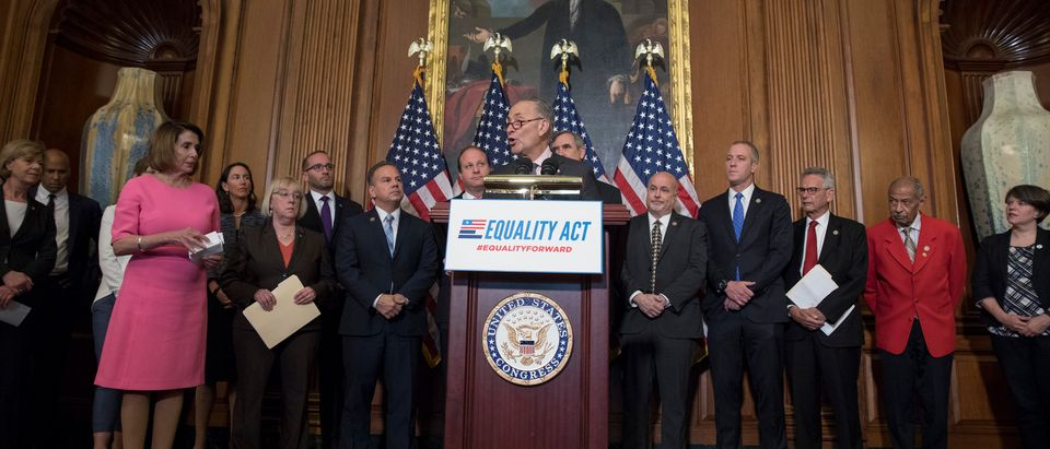 Congressional Democrats Introduce The Equality Act Of 2017 Supporting The LGBT Community Against Discrimination