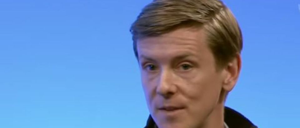 Facebook co-founder Chris Hughes talks about fighting inequality. (YouTube screencap/ Goldman Sachs )