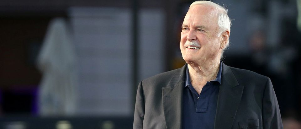 British actor John Cleese walks on the red carpet during the 23rd Sarajevo Film Festival in Sarajevo, Bosnia and Herzegovina, August 16, 2017. REUTERS/Dado Ruvic