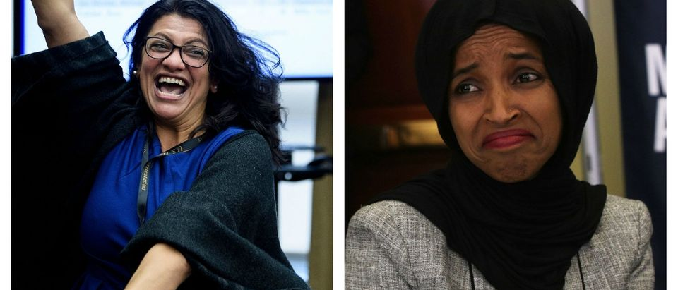 A trio of Muslim lawmakers hosted the meal that ends their daily Ramadan fast inside of the Capitol building on Monday, celebrating the Muslim holy month of Ramadan. LEFT: Brendan Smialowski/AFP/Getty Images RIGHT: Alex Wong/Getty Images