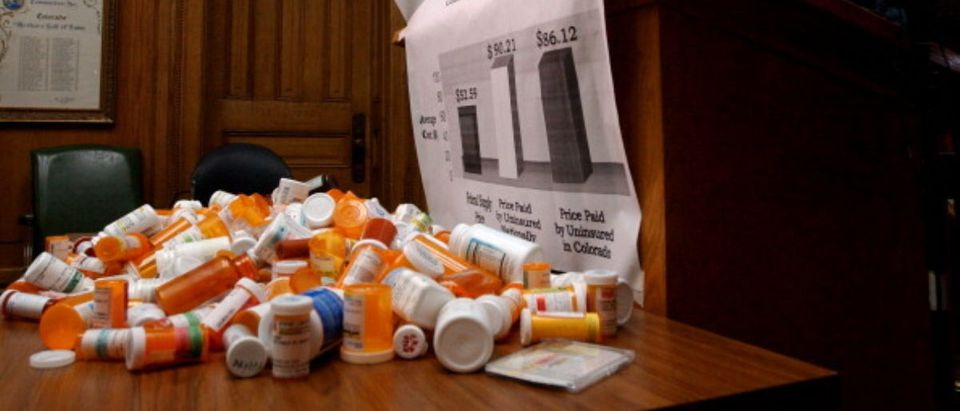 Prescription Drug Discussion -- Helen H. Richardson - Getty Images