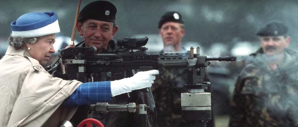 Queen Elizabeth Machine Gun
