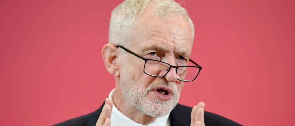 Jeremy Corbyn launches Labour's European election campaign