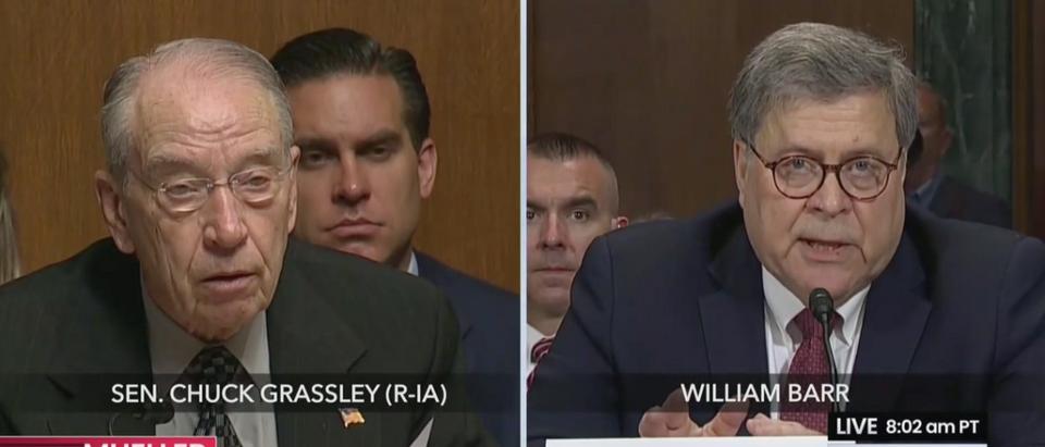 Chuck Grassley and AG Bill Barr (CSPAN: May 1, 2019)