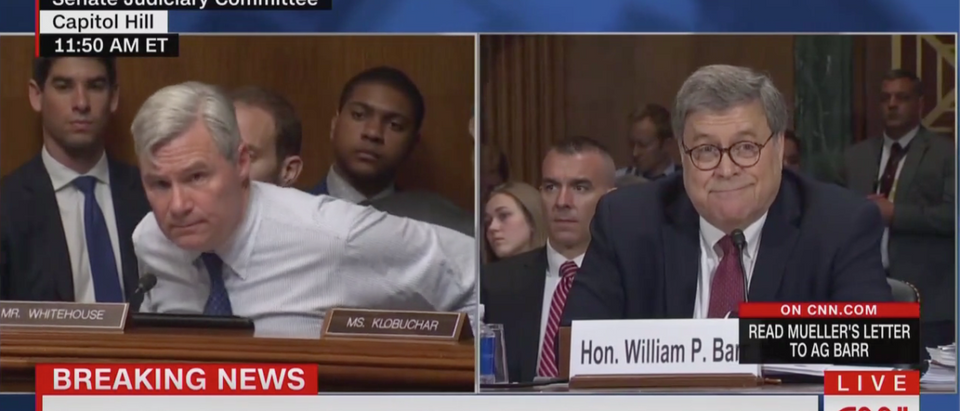 Barr Is Questioned By Dem Sen. Sheldon Whitehouse (CNN: May 1, 2019)