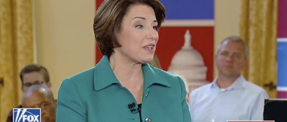 Sen. Amy Klobuchar town hall on Fox News 5/8