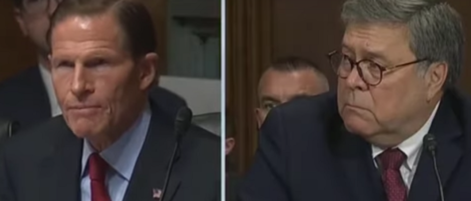 Blumenthal To Barr: 'History Will Judge You Harshly'