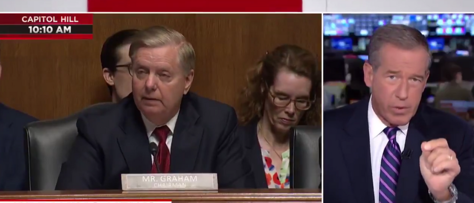 Brian Williams Interrupts Barr Hearing To Push Collusion