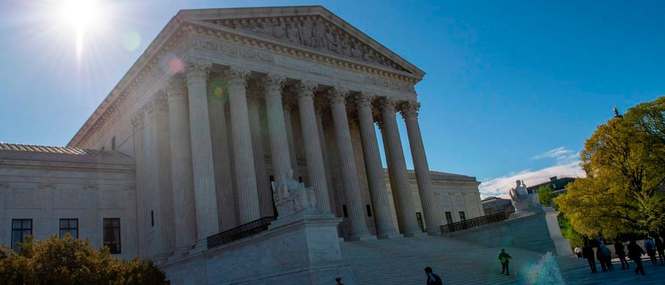 The Supreme Court is seen on April 15, 2019. (Eric Baradat/AFP/Getty Images)