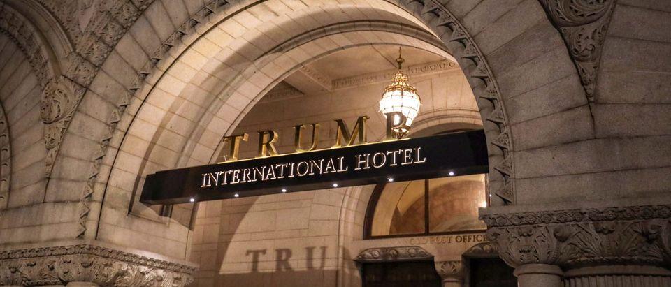 The Trump International Hotel in Washington, D.C. as seen on March 22, 2019 (Alex Wroblewski/Getty Images)