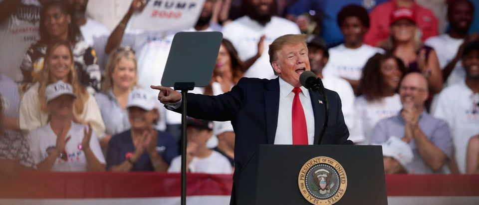 "Donald Trump Holds ""MAGA"" Rally In Panama City Beach, Florida"