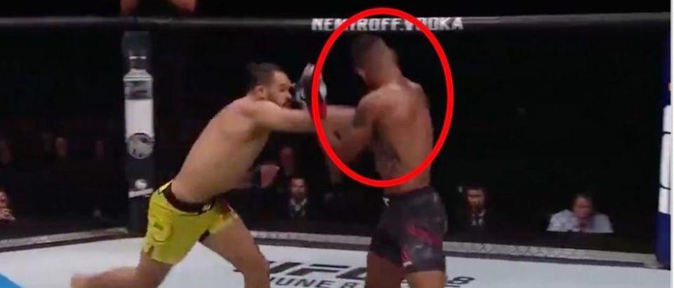 UFC Rochester (Credit: Screenshot/Twitter Video https://twitter.com/sportscenter/status/1129884578942996480?s=21)