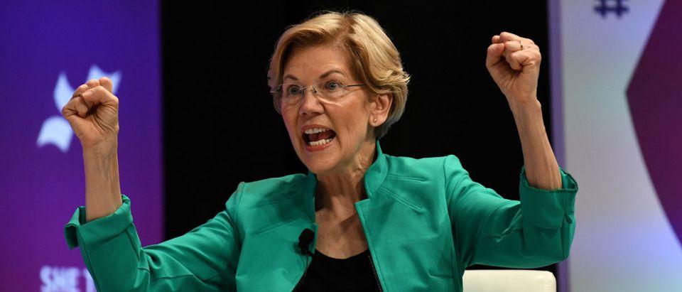 2020 Democratic presidential candidate Elizabeth Warren REUTERS/Loren Elliott