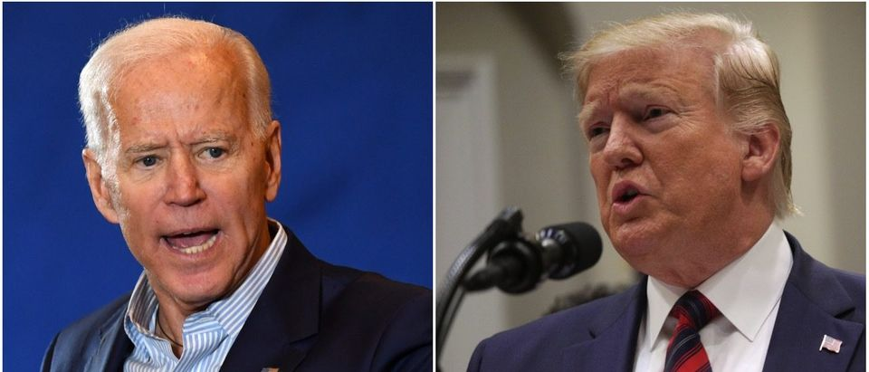 Left: Joe Biden (Getty Images), Right: Donald Trump (Getty Images)