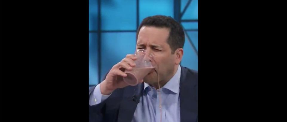 Adam Schefter (Credit: Screenshot/Twitter Video https://twitter.com/bhofheimer_espn/status/1136341478555471873)