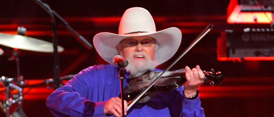 The Charlie Daniels Band performs with Paisley at the 50th Annual Country Music Association Awards in Nashville