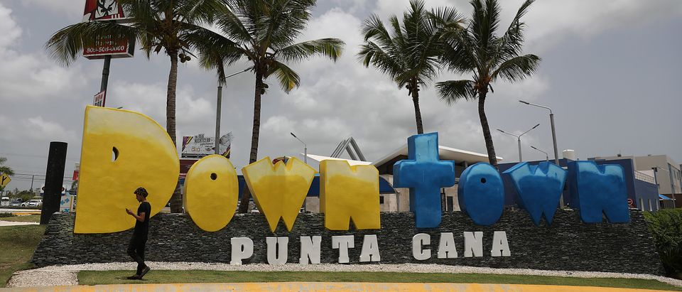PUNTA CANA, DOMINICAN REPUBLIC - JUNE 21: A sign is seen for downtown Punta Cana as authorities continue to investigate the unexpected deaths of tourists in some of the area resorts on June 21, 2019 in Punta Cana, Dominican Republic. According to news reports and the United States State Department, seven Americans have become ill and died this year and two more families are reported to have come forward saying their relatives died unexpectedly last year while staying at resorts in the Dominican Republic. The FBI is assisting the Dominican authorities in the investigation into why tourists are dying. (Photo by Joe Raedle/Getty Images)