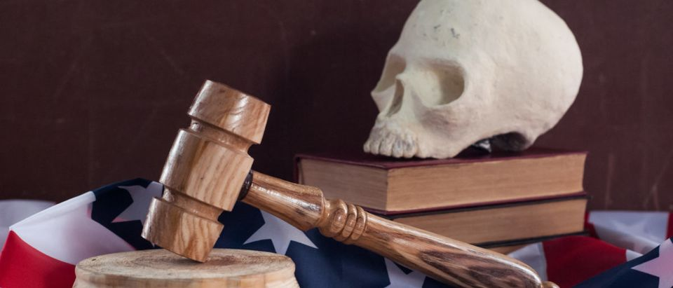 A South Carolina man could get the death penalty. SHUTTERSTOCK/ Stas Vulkanov