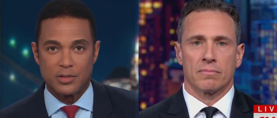 Don Lemon, Chris Cuomo blast straight pride parade (CNN screengrab)