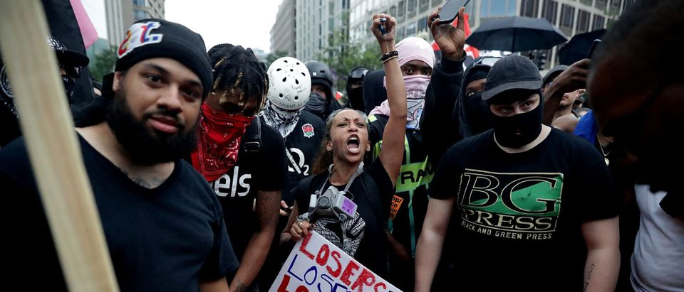 """Alt Right Holds """"Unite The Right"""" Rally In Washington, Drawing Counterprotestors (Photo by Chip Somodevilla/Getty Images)"""