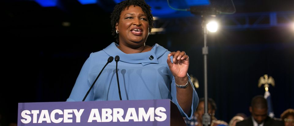 Georgia Democratic Gubernatorial Candidate Stacey Abrams Holds Election Night Event In Atlanta (Photo by Jessica McGowan/Getty Images)