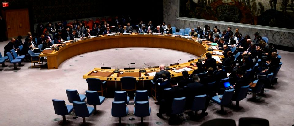 The United Nations Security Council blacklists terrorists and those who support them, but many blacklisters are still able to access their bank accounts. (JOHANNES EISELE/AFP/Getty Images)