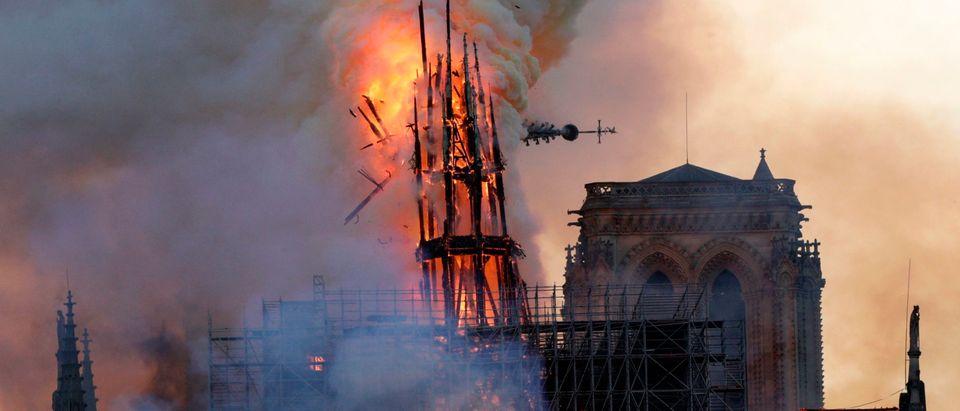 Notre Dame (GEOFFROY VAN DER HASSELT/AFP/Getty Images)