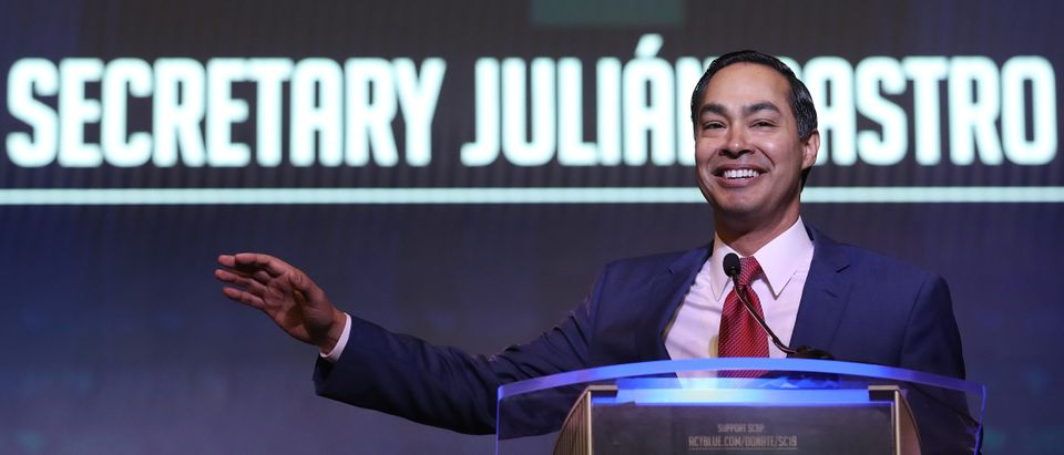 Democratic presidential candidate former HUD Secretary Julian Castro speaks at the South Carolina Democratic Party State Convention on June 22, 2019 in Columbia, South Carolina. (Win McNamee/Getty Images)