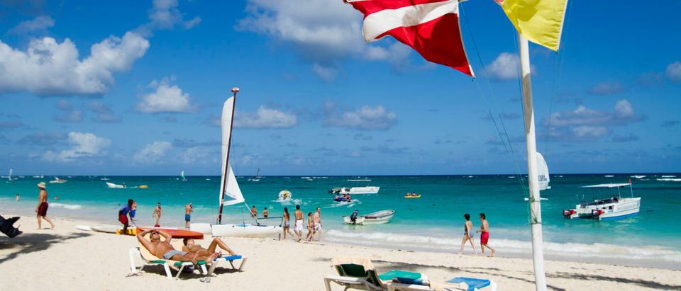 View of Bavaro beach, in Punta Cana, Dominican Republic, on January 16, 2012. Tourism is the main industry in Dominican Republic, and Punta Cana is one of the leading tourist destinations in the Caribbean. (Photo: ERIKA SANTELICES/AFP/Getty Images)