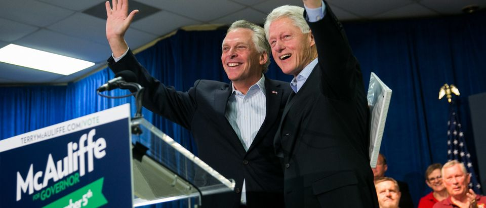 President Bill Clinton Joins Virginia Gubernatorial Candidate Terry McAuliffe During Campaign Swing