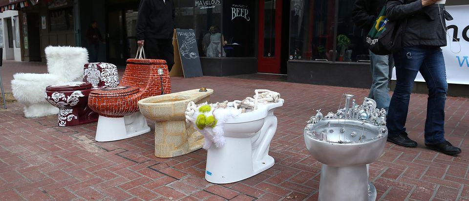 Public Art Installation in San Francisco