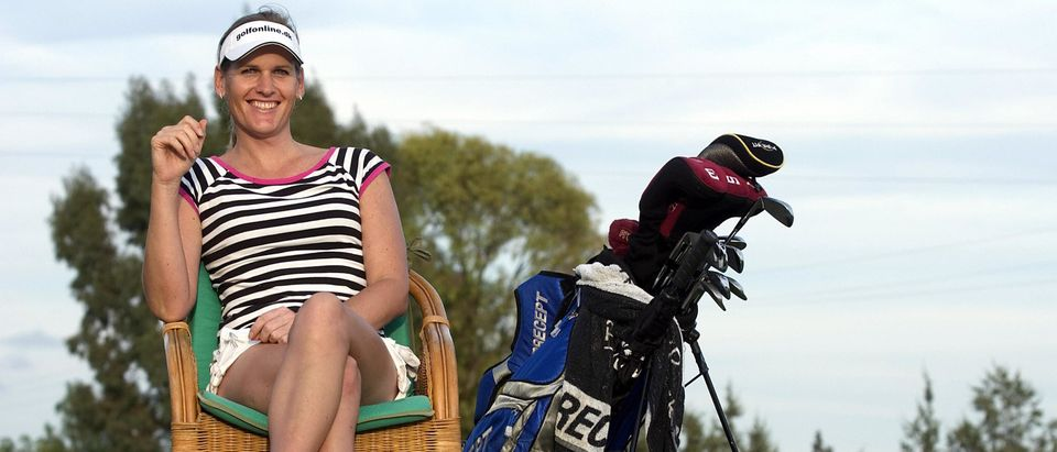 Danish transsexual golfer Mianne Bagger