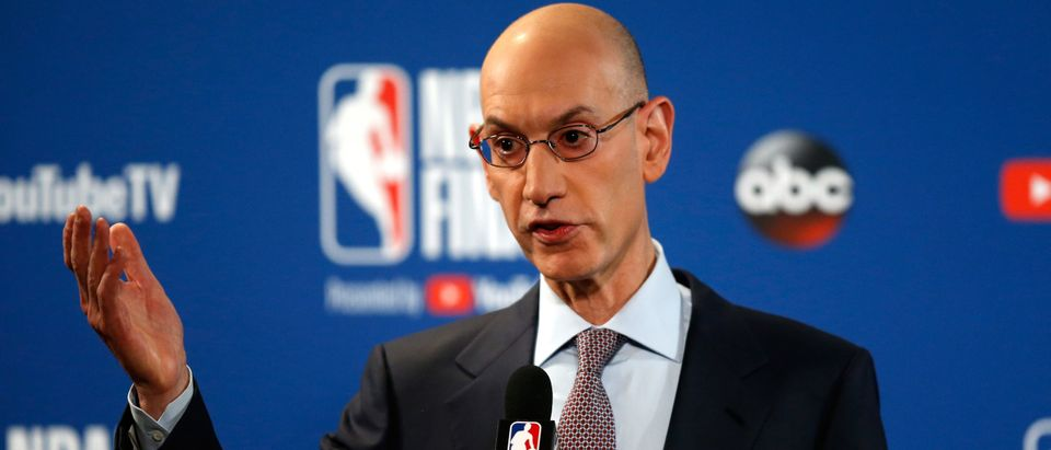 2018 NBA Finals - Commissioner Adam Silver Press Conference