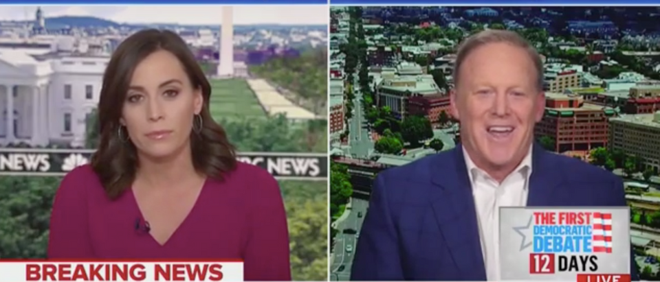 Hallie Jackson Interviews Sean Spicer