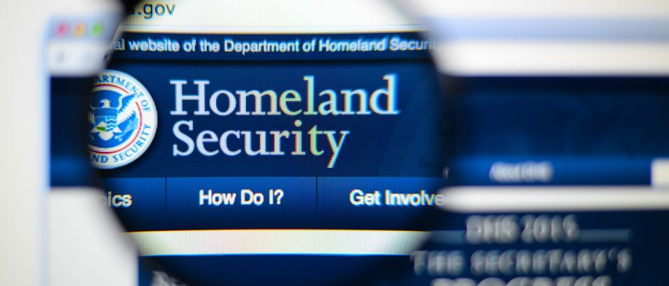 Homeland Security. Shutterstock