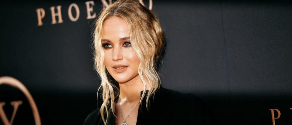 """HOLLYWOOD, CALIFORNIA - JUNE 04: Jennifer Lawrence attends the premiere of 20th Century Fox's """"Dark Phoenix"""" at TCL Chinese Theatre on June 04, 2019 in Hollywood, California. (Photo by Matt Winkelmeyer/Getty Images)"""