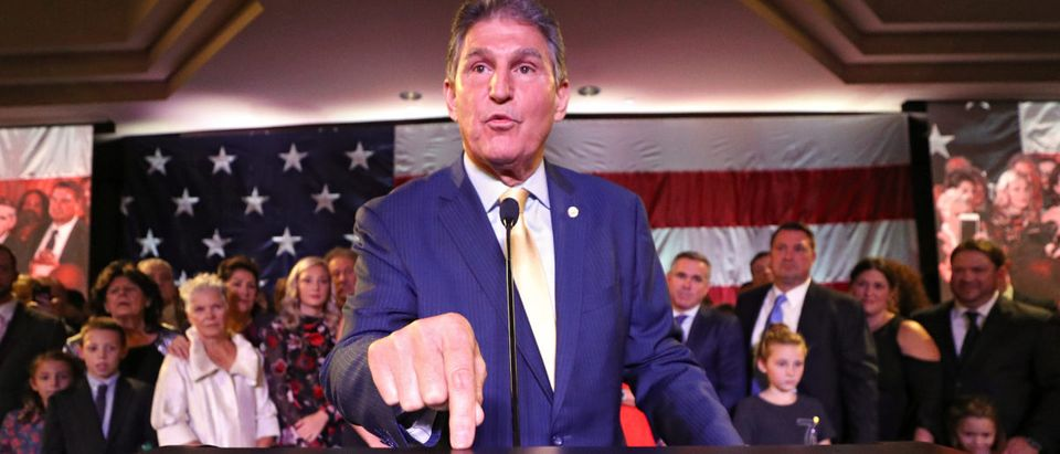 WV Democratic Senate Candidate Joe Manchin Holds Election Night Party In Charleston
