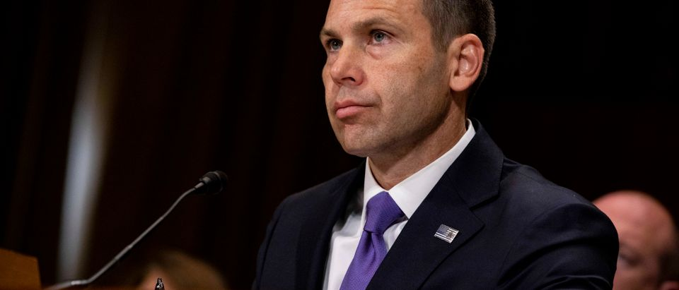 Acting DHS Secretary McAleenan Testifies At Senate Hearing On Border Crisis