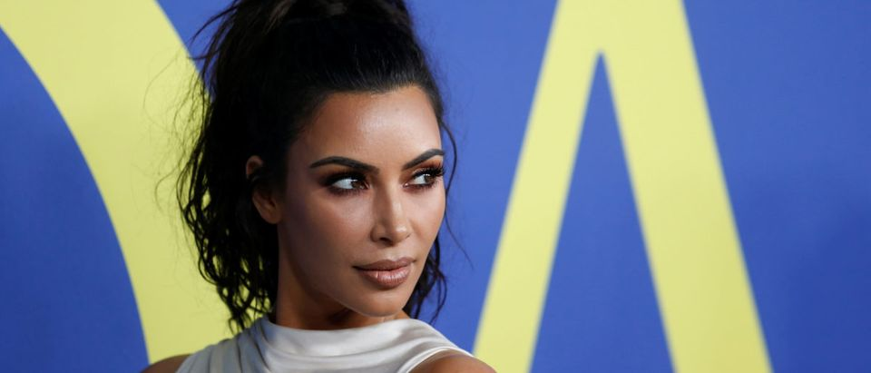 Kim Kardashian attends the CFDA Fashion awards in Brooklyn REUTERS/Shannon Stapleton - RC1B70092400