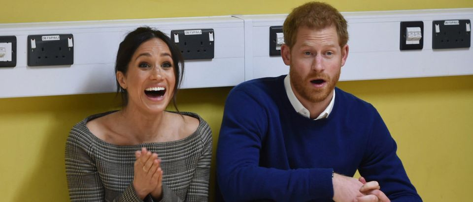 Prince Harry And Meghan Markle Visit Star Hub(Photo by Geoff Pugh - WPA Pool/Getty Images)