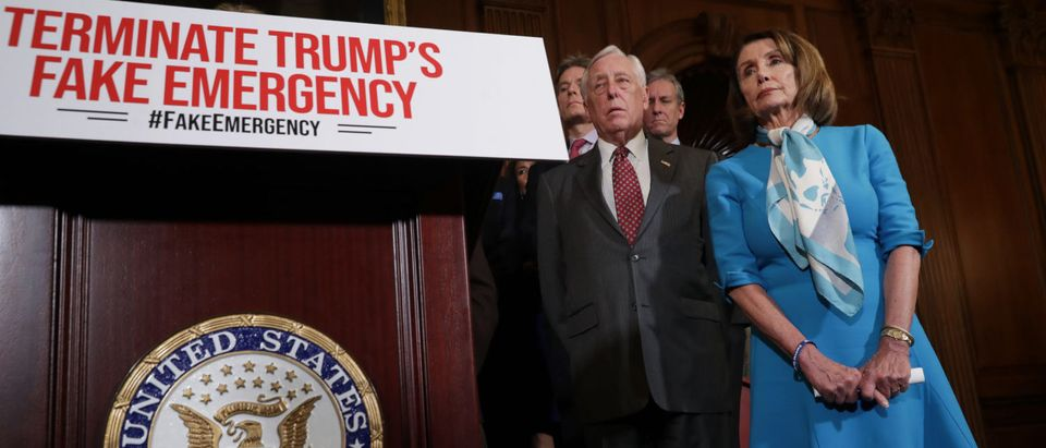 Speaker Nancy Pelosi Holds News Conference On Resolution To Terminate President Trump's Emergency Declaration