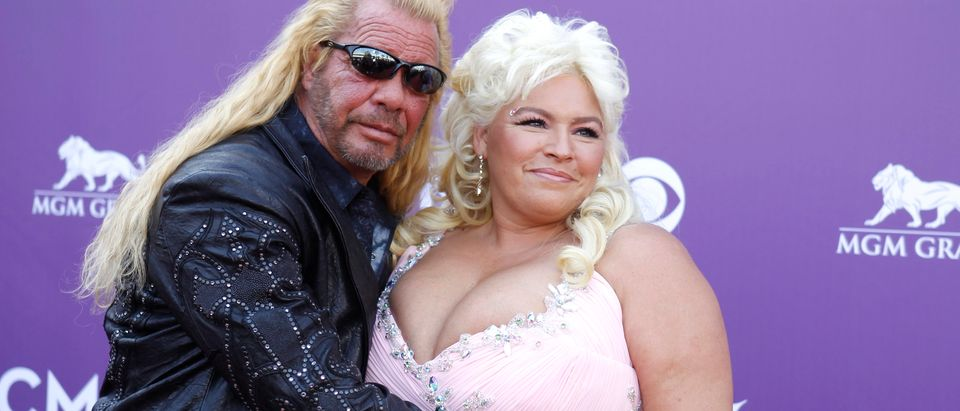 Duane and Beth Chapman arrive at the 48th ACM Awards in Las Vegas