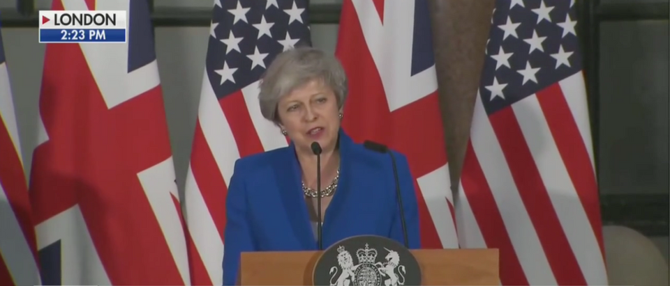 Theresa May Speaks At Press Conference (Fox News Screenshot)