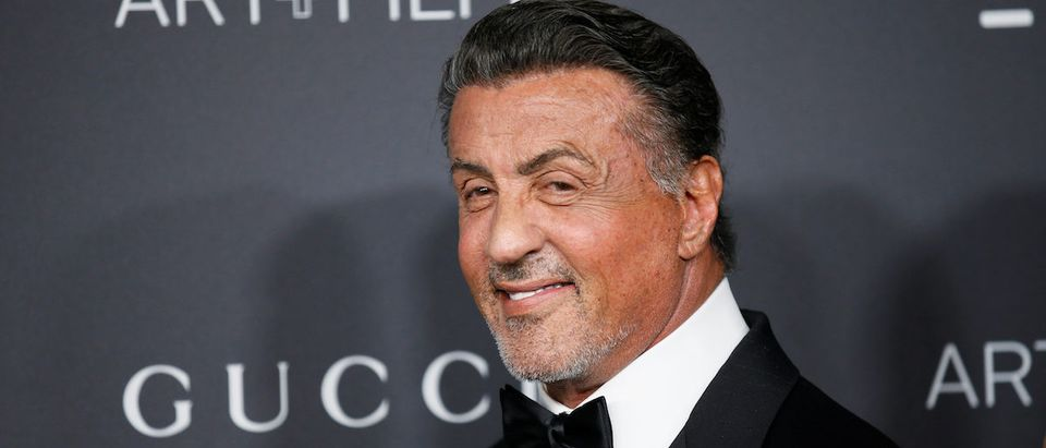 Actor Sylvester Stallone poses at the Los Angeles County Museum of Art (LACMA) Art+Film Gala in Los Angeles, October 29, 2016. REUTERS/Danny Moloshok