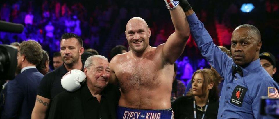 Tyson Fury v Tom Schwarz