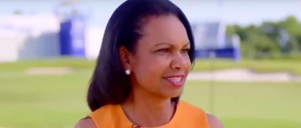 """Condoleezza Rice appears on NBC's """"TODAY."""" Screen Shot/NBC"""